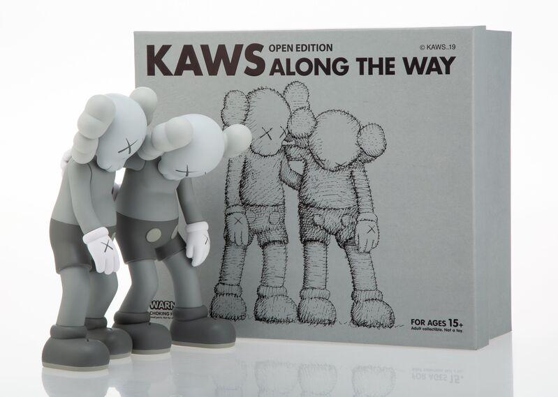 KAWS, 'Along the Way (Grey)', 2019, Sculpture, Painted cast vinyl, Heritage Auctions
