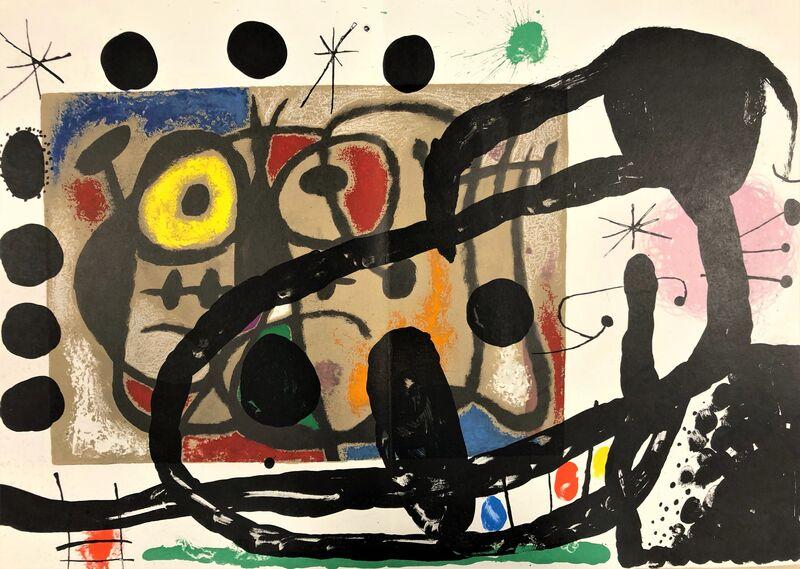 Joan Miró, 'Cartons', 1965, Print, Original lithograph on wove paper, Samhart Gallery