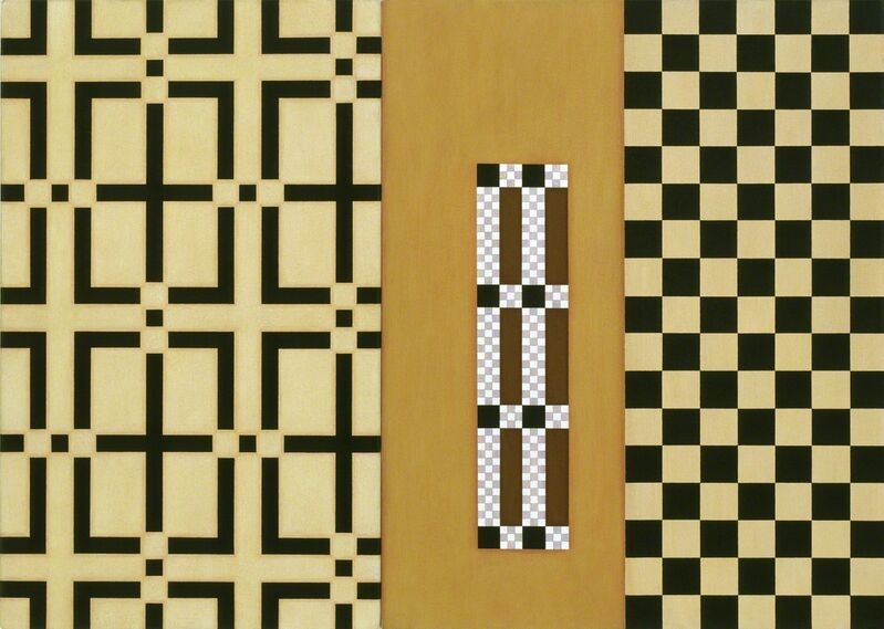 Andrew Christofides, 'Icon for Malevich', 2008, Painting, Acrylic on canvas, Charles Nodrum Gallery