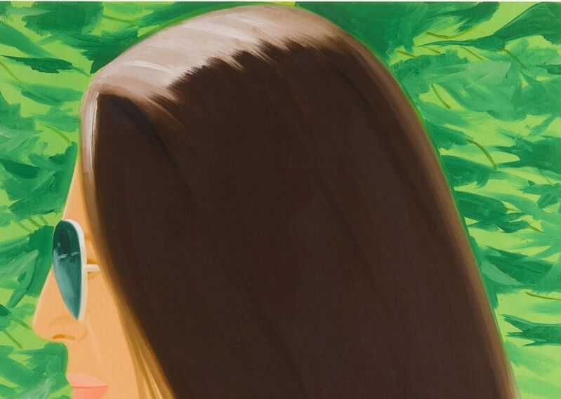 Alex Katz, 'Ada in Spain', 2018, Print, Archival pigment  Inks on Crane Museo Max 365 gsm fine art paper, Weng Contemporary