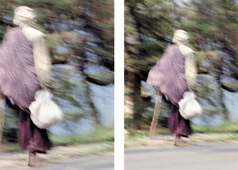 Alfredo Jaar, 'Walking', 2002, Photography, Fuxiflex print, mounted behind plexiglas, Schellmann Art