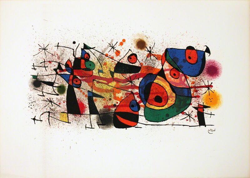 Joan Miró, 'Ceramics', 1974, Print, Lithograph, ArtWise
