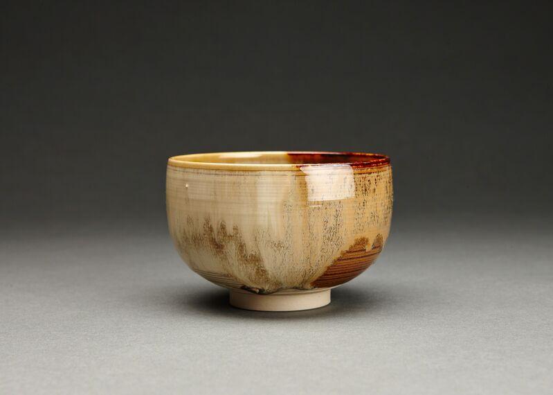 Miraku Kamei XV, 'Tea bowl (chawan), kakewake', Design/Decorative Art, Stoneware, Pucker Gallery