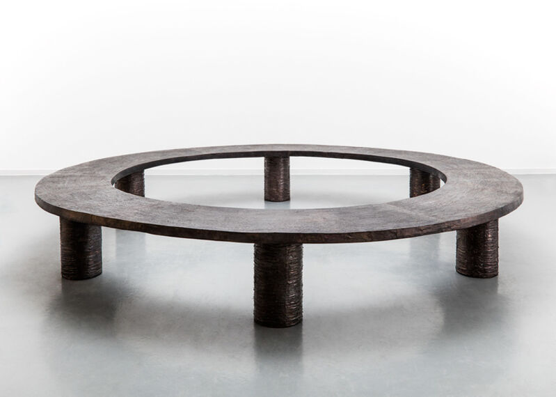 Michele Oka Doner, 'Bench 'Ice Ring'', 1989, Design/Decorative Art, Bronze, David Gill Gallery