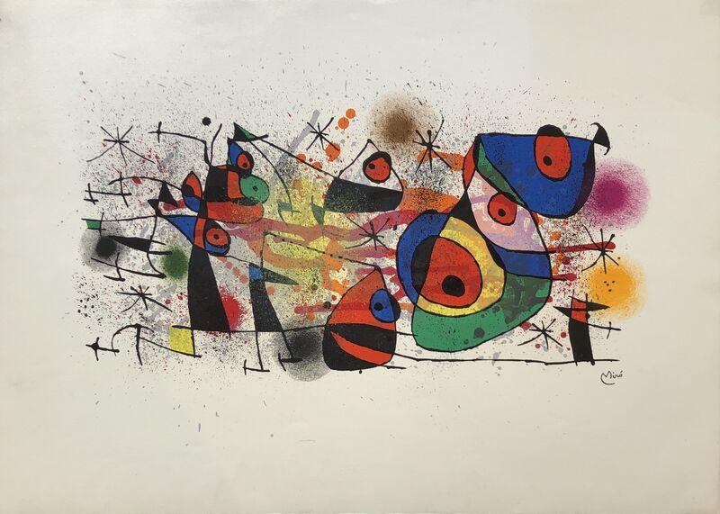 Joan Miró, 'Ceramiques', 1974, Print, Lithograph, Denis Bloch Fine Art