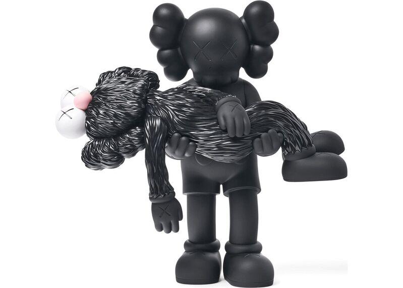 KAWS, 'Gone (Black)', 2019, Sculpture, Cast vinyl and paint, EHC Fine Art