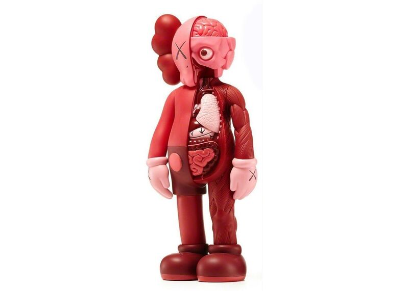 KAWS, 'Blush (Flayed)', 2017, Sculpture, Painted Cast Vinyl, Lougher Contemporary