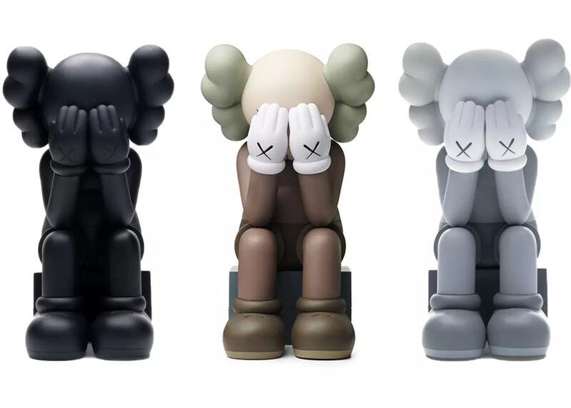 KAWS, 'Passing Through (Set of 3 - Black, Grey & Brown)', 2018, Ephemera or Merchandise, Painted cast vinyl, Artsy x Tate Ward