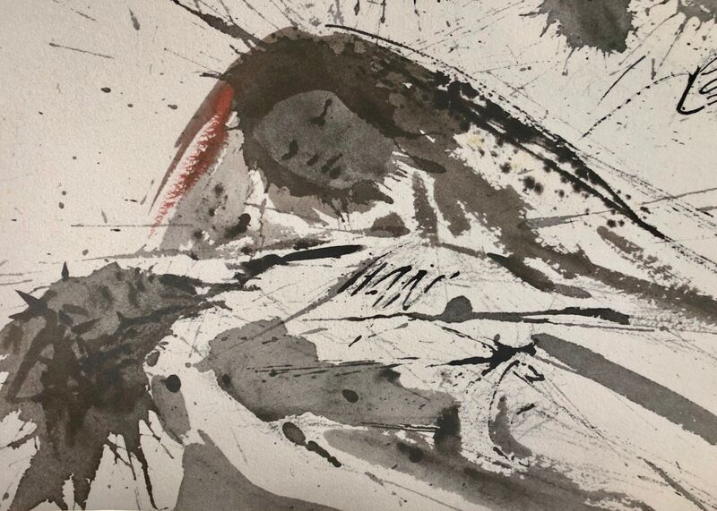 Salvador Dalí, 'And Bound Him Up With Bandages, 'Et Ligaverunt Eum Linteis', Biblia Sacra', 1967, Print, Original Lithograph, Inviere Gallery