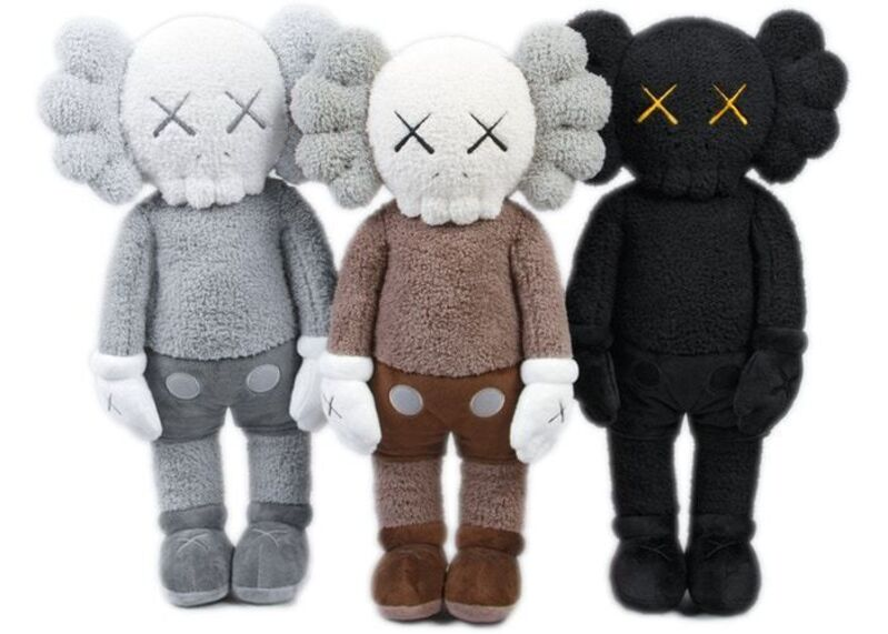 KAWS, 'Holiday Hong Kong Plush (Set of Three)', 2019, Other, Polyester, Lougher Contemporary