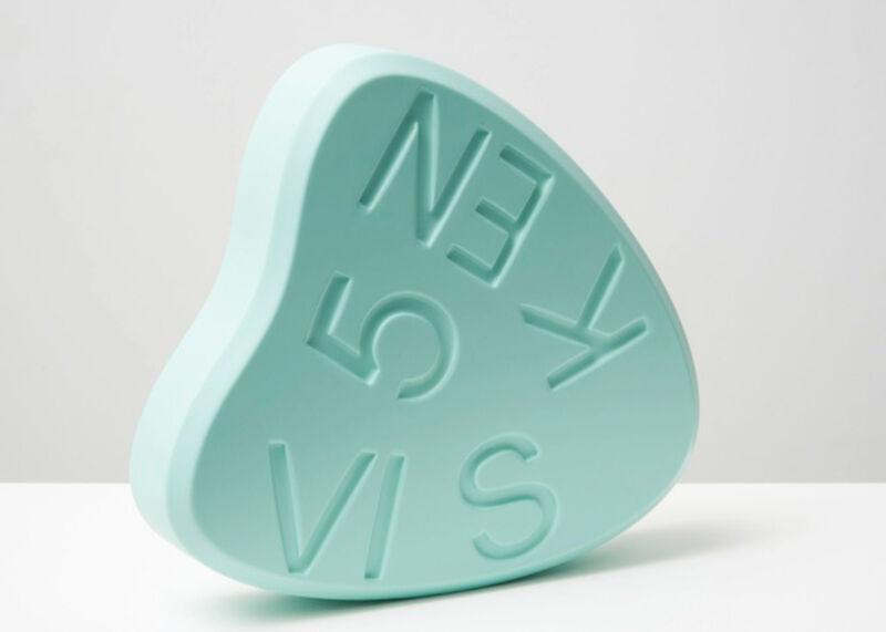 Damien Hirst, 'VISKEN 5 Mint', 2014, Sculpture, Polyurethane resin with ink pigment, original box, artrepublic