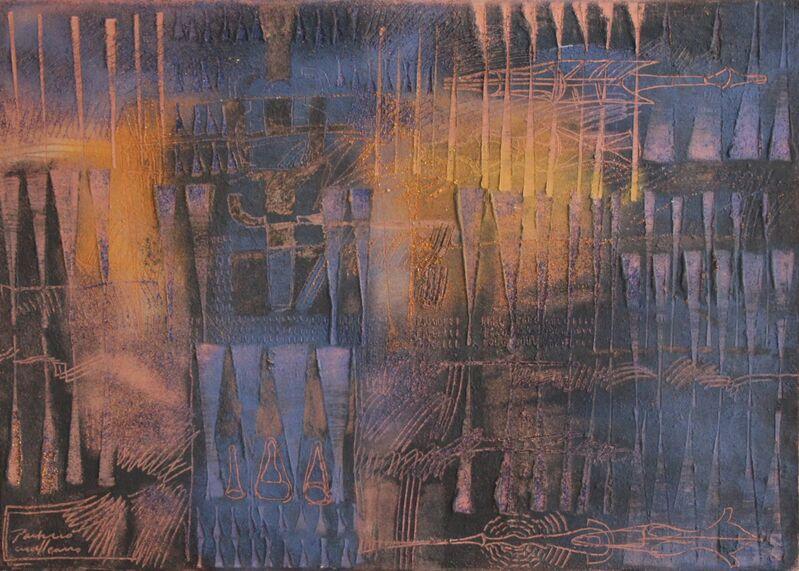 Guillermo Pacheco, 'Indigo', 2019, Painting, Oleo y pigmento/tela, Quetzalli Arte y Diseño