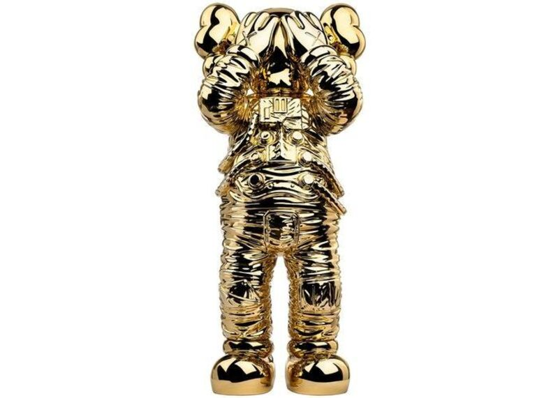 KAWS, 'Holiday Space (Gold)', 2020, Sculpture, Polyurethane, Carroll Art