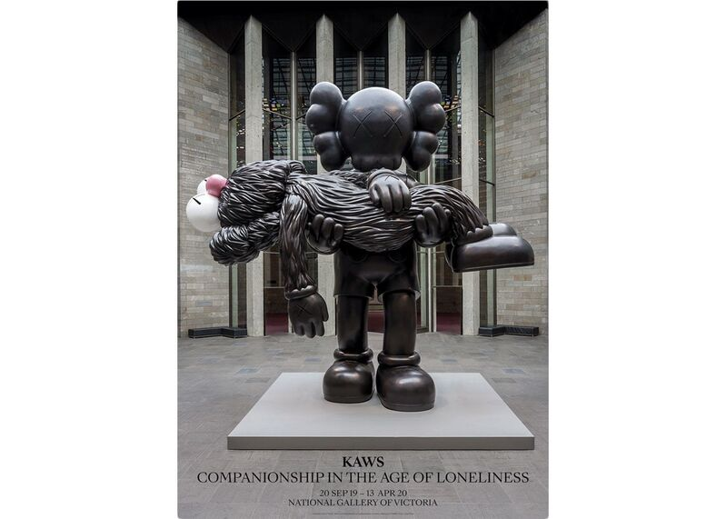 KAWS, 'KAWS x NGV Exclusive GONE Poster', 2019, Ephemera or Merchandise, Thick paper, Gallery 1890