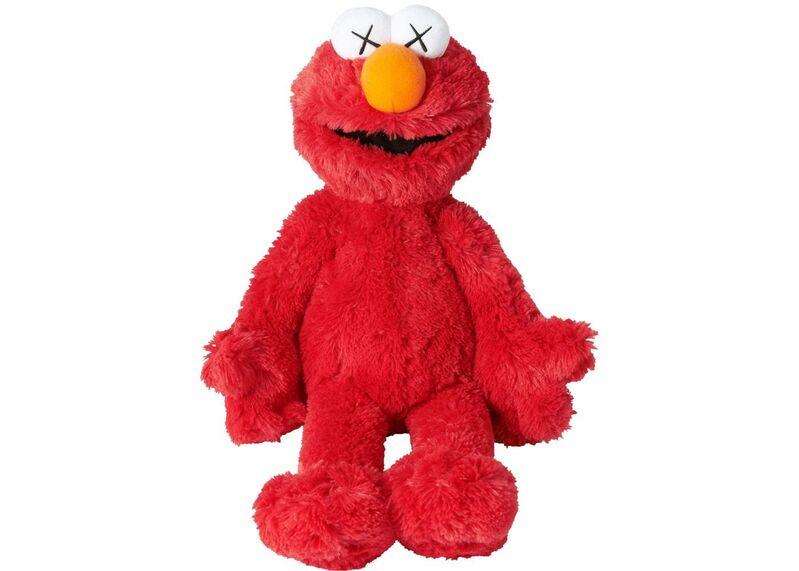 KAWS, 'Elmo', 2018, Other, Plush toy, EHC Fine Art