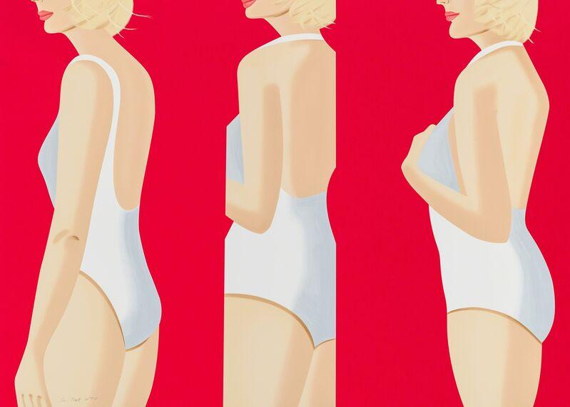 Alex Katz, 'Coca Cola Girl 5 (Portfolio of 9)', 2019, Print, Silkscreen, Frank Fluegel Gallery