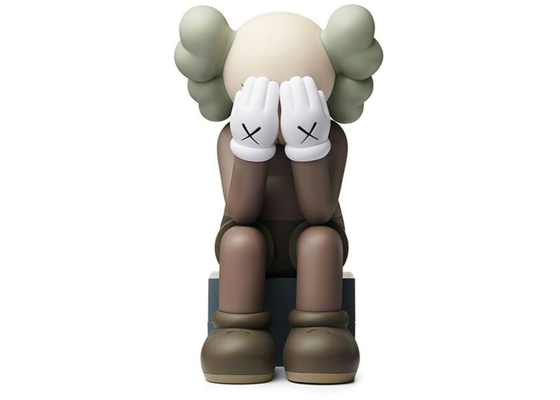 KAWS, 'Passing Through Brown (Open Edition)', 2018, Sculpture, Painted Cast Vinyl, Lougher Contemporary