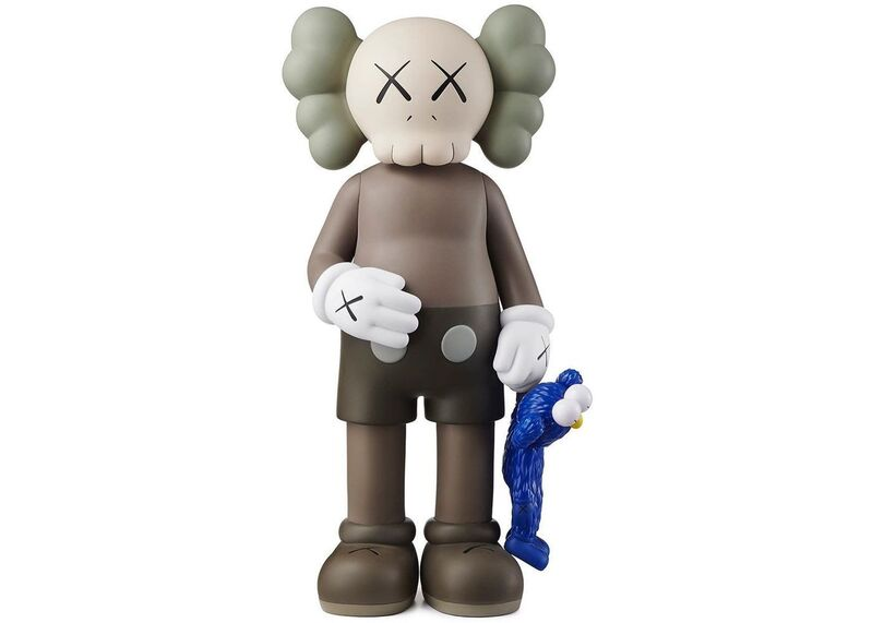 KAWS, 'SHARE Companion vinyl figure (with small blue BFF)', 2020, Sculpture, Painted Vinyl Cast Resin, Gallery Red