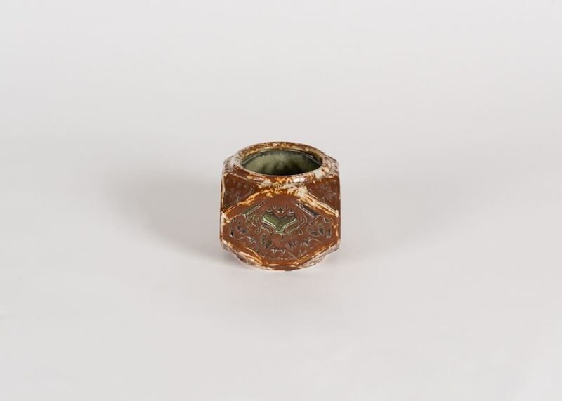 Louis Majorelle, 'Geometric Vase', France-Early 20th Century, Design/Decorative Art, Stoneware, Maison Gerard