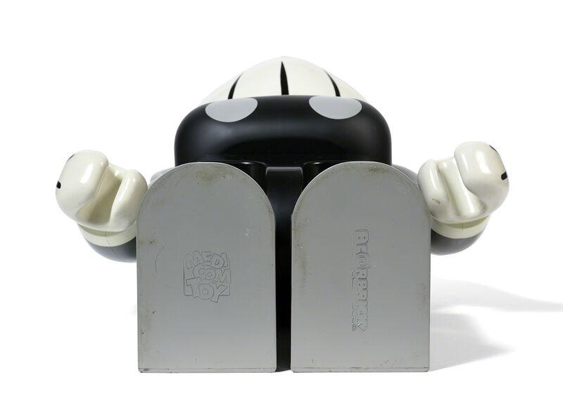 KAWS, 'BEARBRICK COMPANION 1 000 % (Grey)', 2002, Sculpture, Painted cast vinyl, DIGARD AUCTION