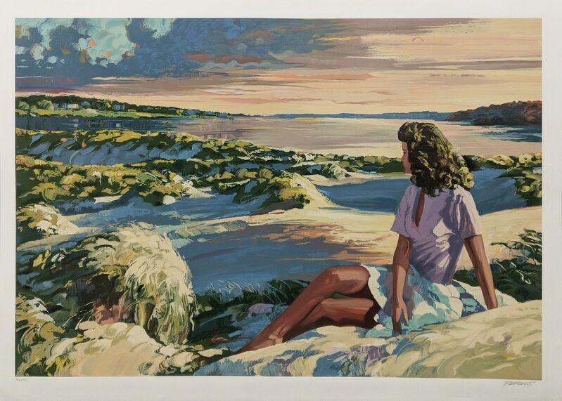Howard Behrens, 'SUMMER SUNSET', 1988, Print, SERIGRAPH, Gallery Art