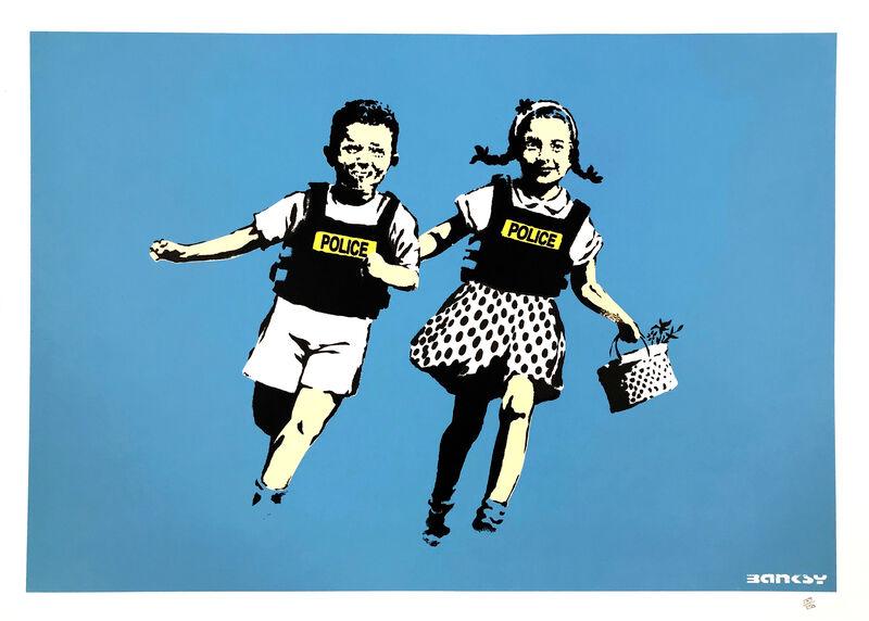 Banksy, 'POLICE KIDS', 2005, Print, SCREEN PRINT, Gallery Art