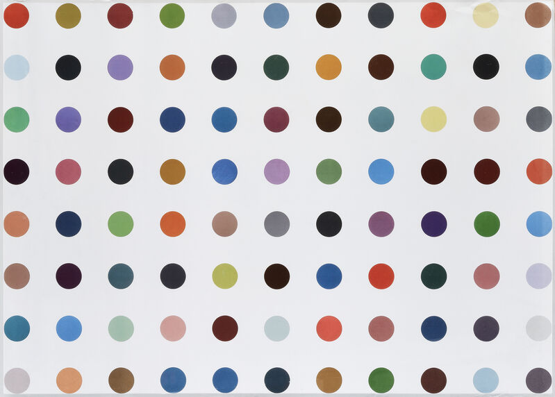 Damien Hirst, 'Postcard from.... Damien Hirst', 2012, Print, Offset lithograph in colours on glossy wove paper, Tate Ward Auctions