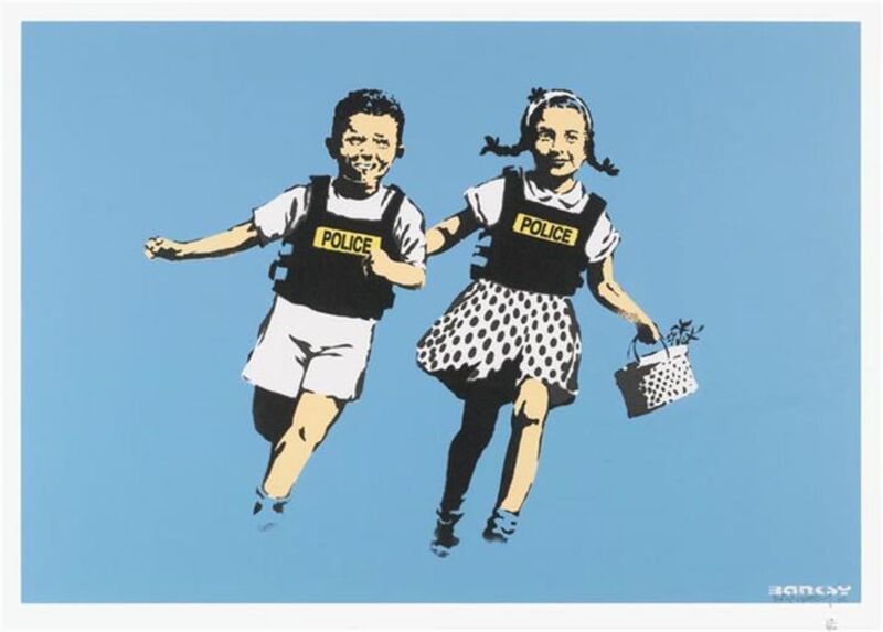 Banksy, 'Jack And Jill', 2005, Print, Screenprint, The Drang Gallery