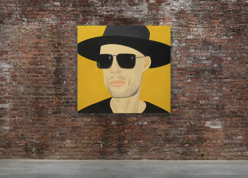 Alex Katz, 'Black Hat 13', 2010, Painting, Oil on linen, Gladstone Gallery