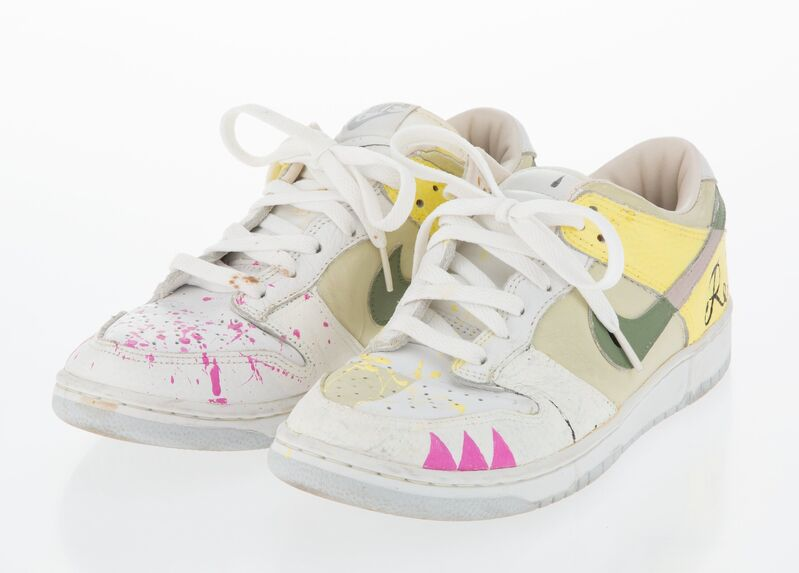 Tomokazu Matsuyama, 'Untitled', Fashion Design and Wearable Art, Acrylic on pair of sneakers, Heritage Auctions