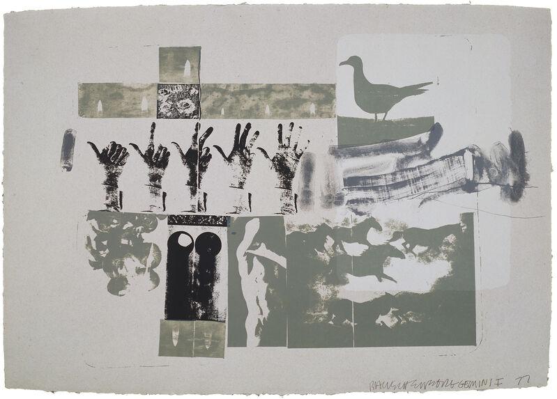 Robert Rauschenberg, 'Romances (Prophecy)', 1977, Print, 4-color screenprint, Gemini G.E.L. at Joni Moisant Weyl