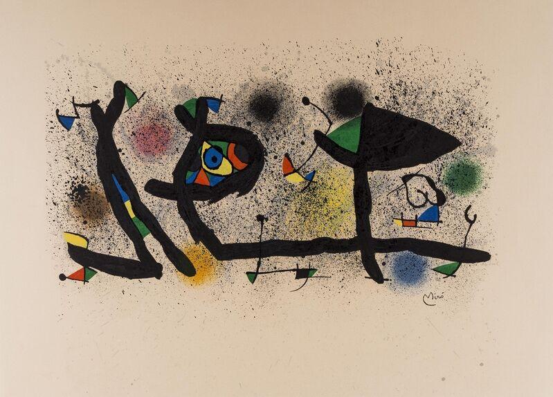 Joan Miró, 'Sculptures (Mourlot 950)', 1974, Print, Lithograph printed in colours, Forum Auctions