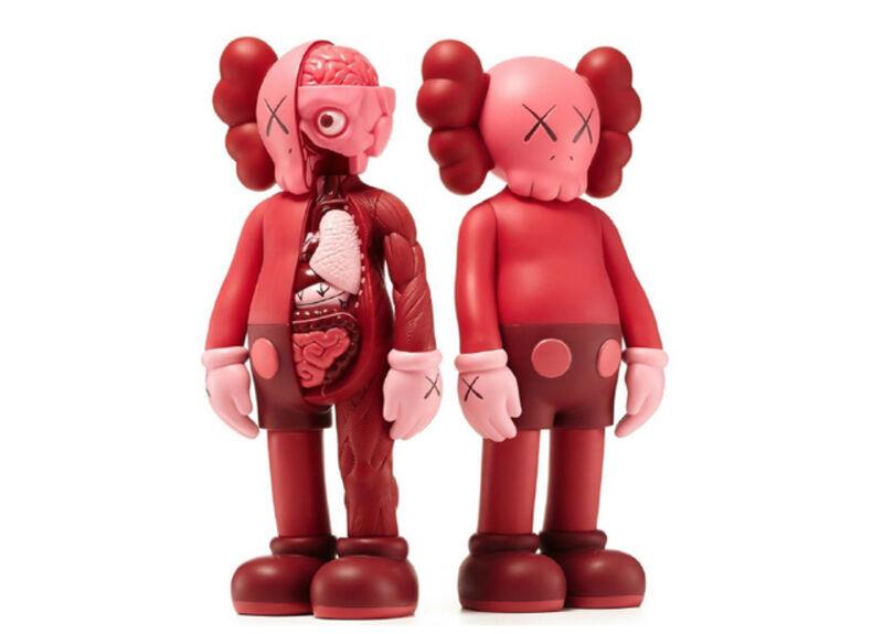 KAWS, 'Blush Companions (mono & flayed)', 2016, Sculpture, Two painted vinyl multiples, Roseberys