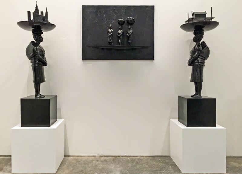 Pedro Ruiz, 'Conversation 1 (New York), ed. 3/3', 2015, Sculpture, Bronze, Beatriz Esguerra Art