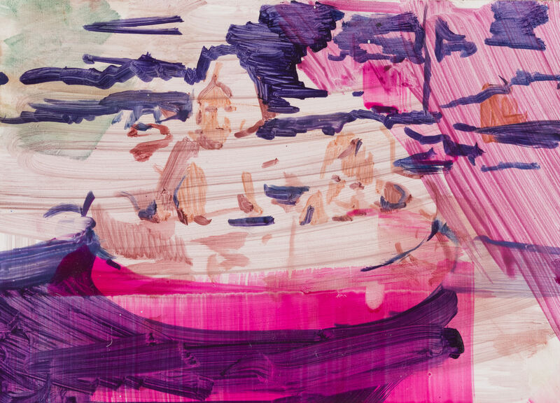Katharine Le Hardy, 'Two can play that game', 2021, Painting, Oil on wood panel, Candida Stevens Gallery