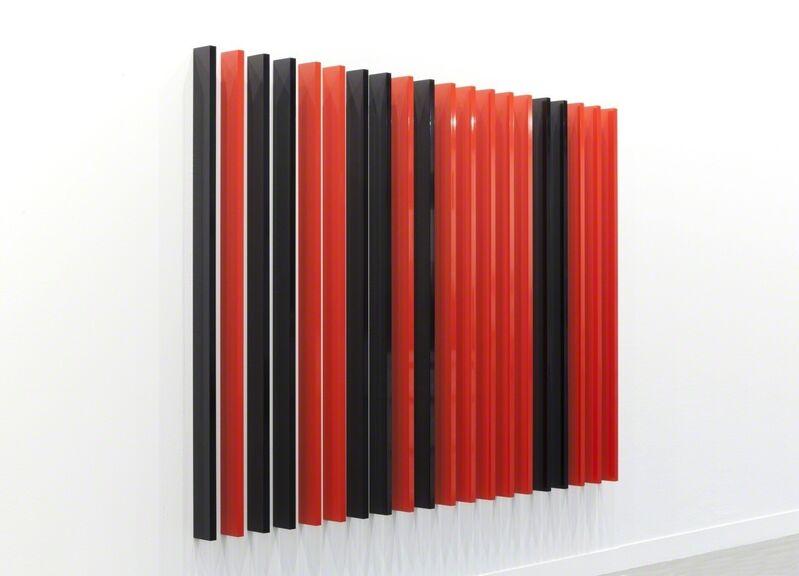 Liam Gillick, 'Linked Array', 2014, Sculpture, Powder coated aluminium, 180 x 3 x 10 cm each, 20 elements, Alfonso Artiaco