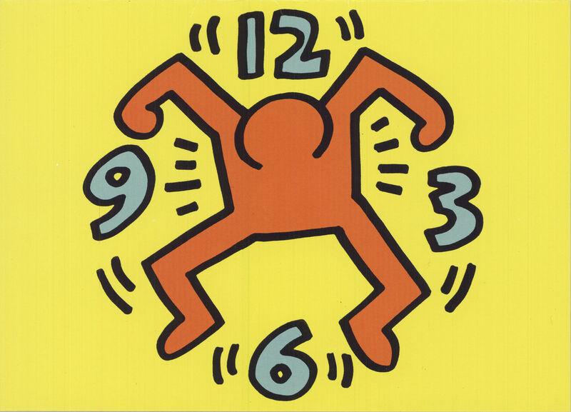 Keith Haring, 'Clock Man', 1991, Ephemera or Merchandise, Offset Lithograph, ArtWise