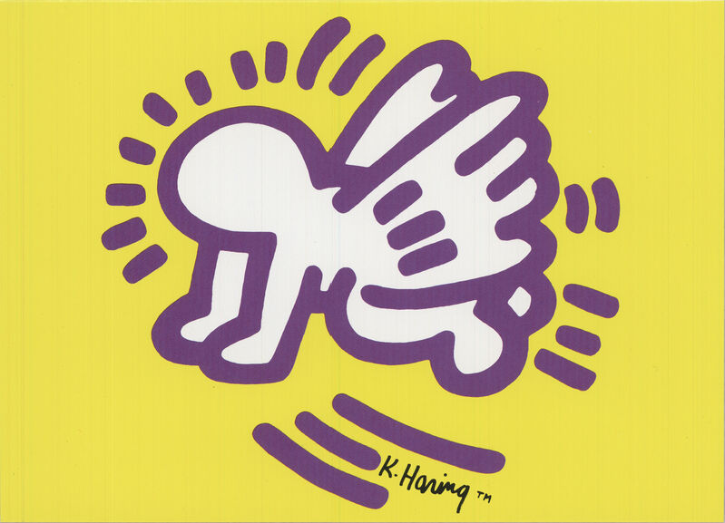 Keith Haring, 'Baby Angel', 1991, Ephemera or Merchandise, Offset Lithograph, ArtWise