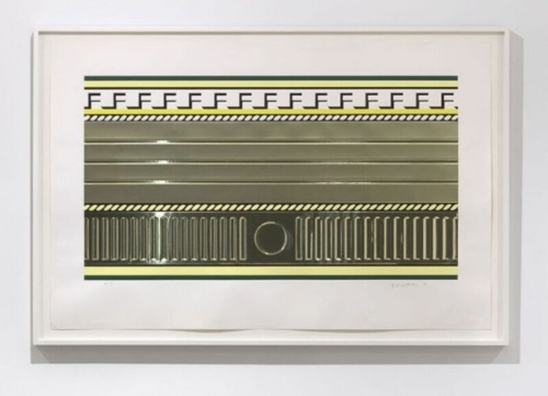 Roy Lichtenstein, 'Entablature III', 1976, Print, Screenprint with collage and embossing on Rives BFK paper, Joseph Fine Art LONDON