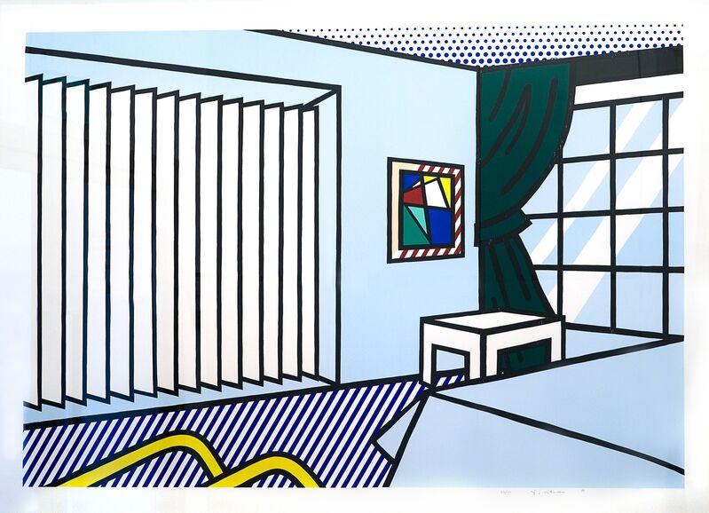Roy Lichtenstein, 'Bedroom', 1990, Print, 10 colour woodcut/screenprint, Collectors Contemporary