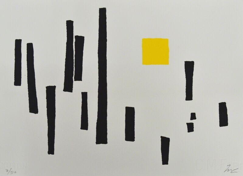 Mathias Goeritz, 'Torres y Cuadrado', 1989, Print, Serigrafía, Galería La Caja Negra