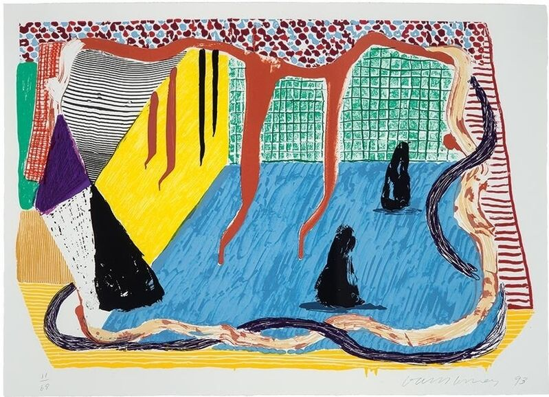 David Hockney, 'Ink in the room', 1993, Print, 23-color Screenprint on Arches 88 paper, Artsy x Capsule Auctions