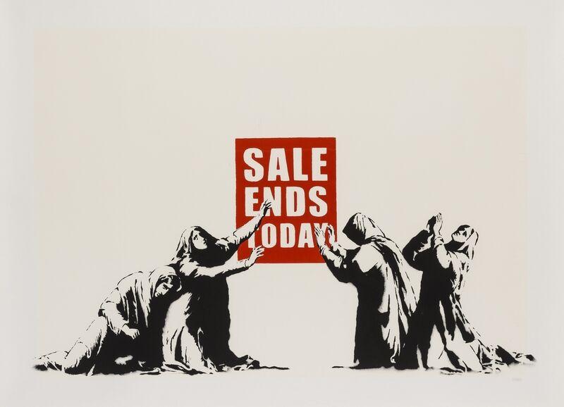 Banksy, 'Sale Ends (LA Edition)', 2007, Print, Screenprint in colours, Forum Auctions