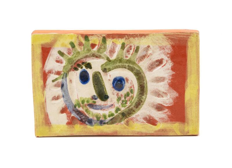 Pablo Picasso, 'Petit Soleil', 1968, Print, Glazed and painted ceramic plaque, Hindman