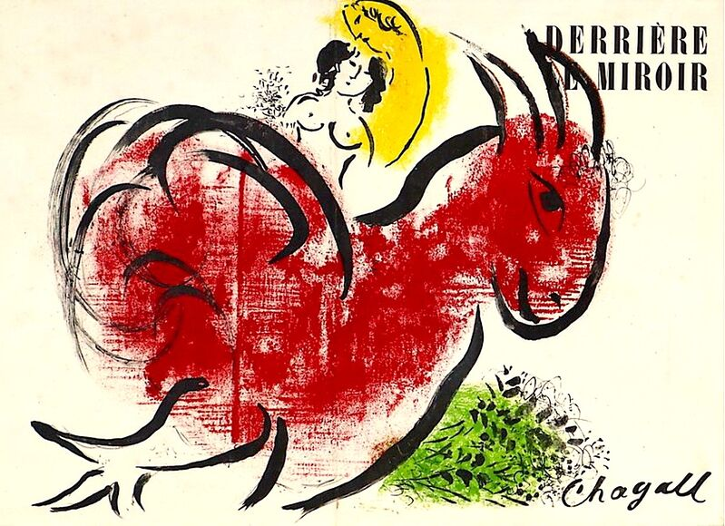 Marc Chagall, 'Le Coq Rouge (The Red Rooster)', 1952, Print, Velum paper, Modern-Originals