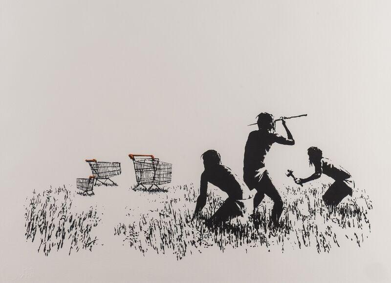 Banksy, 'Trolleys', 2007, Print, Screenprint in colours, Forum Auctions