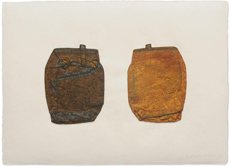 Rachel Whiteread, 'Squashed', 2010, Print, Mixografía® print on handmade paper, Mixografia