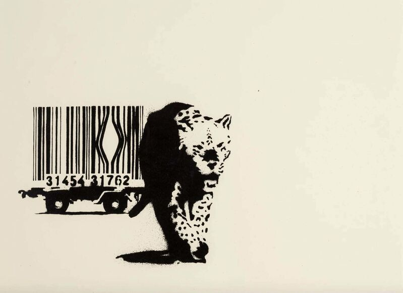 Banksy, 'Barcode - Signed', 2003, Print, Screen print on paper, Hang-Up Gallery