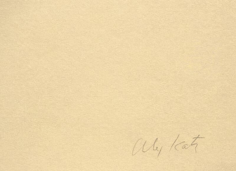 Alex Katz, 'Sunset: Lake Wesserunsett 4', 1972, Print, Screenprint in five colors on American etching paper, Heather James Fine Art