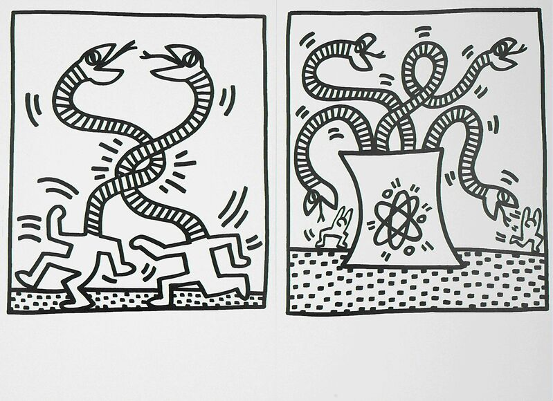 Keith Haring, 'Untitled', 1983, Print, 29 lithographs (unbound), Rago/Wright